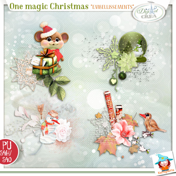 ONE MAGIC CHRISTMAS by KASTAGNETTE