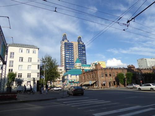 Voyage Transsibérien 2017, le 14/07, 7ème jour,  Novossibirsk, en ville ,fin
