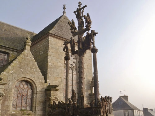Zaint Thégonnec en Bretagne (photos)