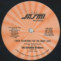 The Cornelius Brothers Feat. Sister Rose - I Been Searching For The Right Love