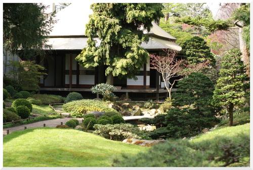 Printemps 2014 au Jardin Albert Kahn.