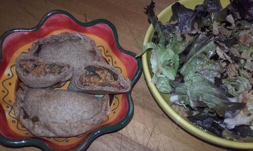 Empanadas aubergine et haché végétal {Vegan}