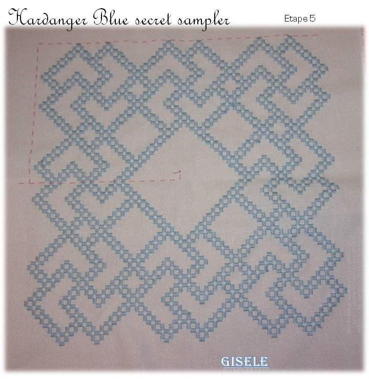 Hal The Blue Secret Hardanger Sampler de Vavi (5)