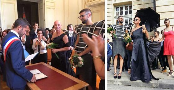 Photos du mariage (crédit photos : site http://www.infos-bordeaux.fr/