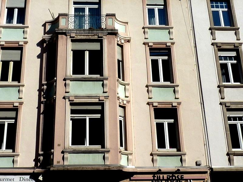 Metz / Quelques oriels... 1