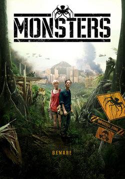 Monsters - un film de Gareth Edwards (2010)