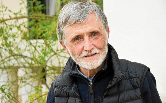 Alain Fleitour, poète vannetais, lauréat du prix Blaise Cendrars.