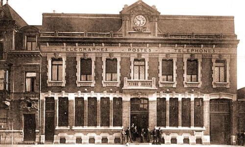 L'ancienne poste boulevard Louis-Pasteur, en 1895