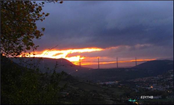 millau coucher soleil (2)