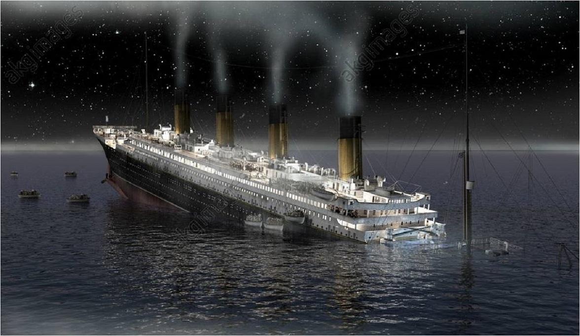 """LE SINGULIER ET CELEBRE NAUFRAGE DU """"RMS TITANIC"""" ?......MAIS PAS QUE..."""