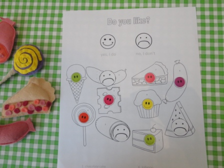 The Very Hungry Caterpillar Lesson 2