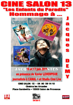 HOMMAGE A JACQUES DEMY