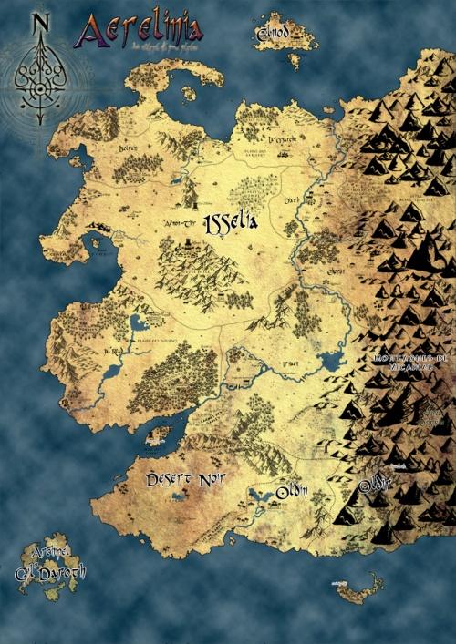 Aerelinia : une carte
