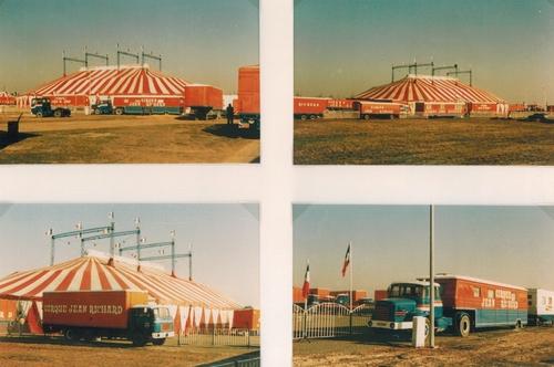 le cirque Jean Richard à Chartres en 1981