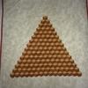 Pyramide à 4 mains