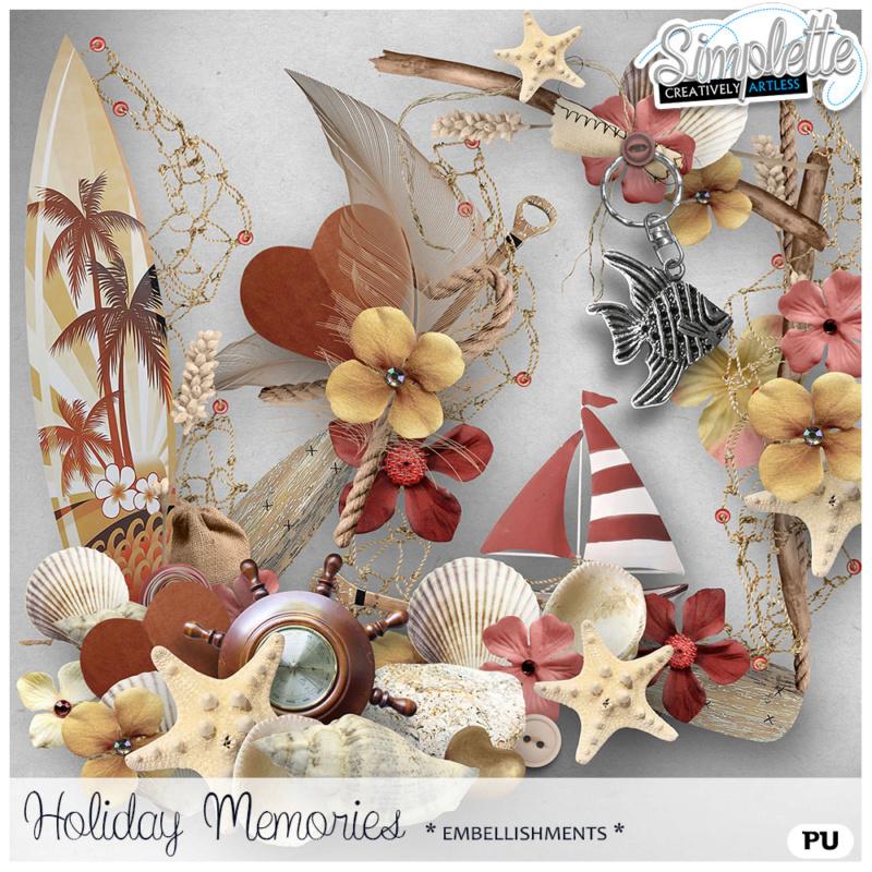 31 août : Holiday Memories Simpl454