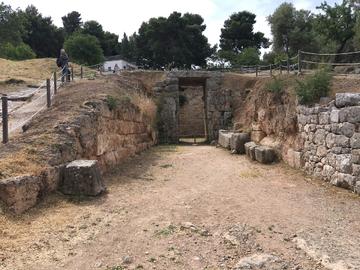 Mycènes - tombeau des Lions