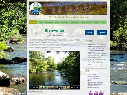 Site internet du Club Mouche du Pays de Questembert