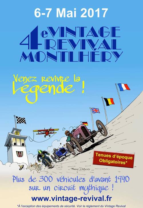 L'évènement des 6-7 mai : le Vintage Revival Montlhéry