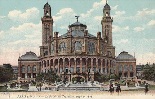 Palais du Trocadéro, érigé en 1878