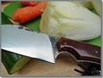 Couteau de cuisine (avec étui cuir de ceinture) d'Alain Massart...