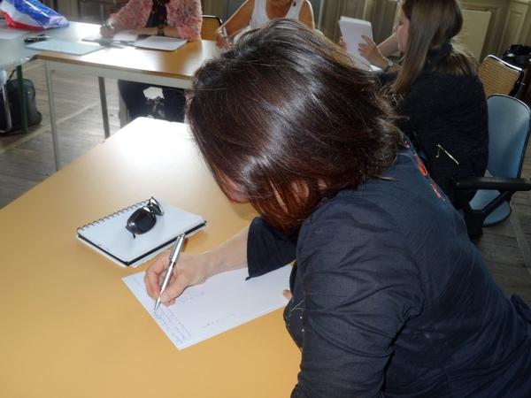 """Un atelier d'écriture animé par Danielle Berthaud  """"une passion : l'œuvre de Carco"""""""