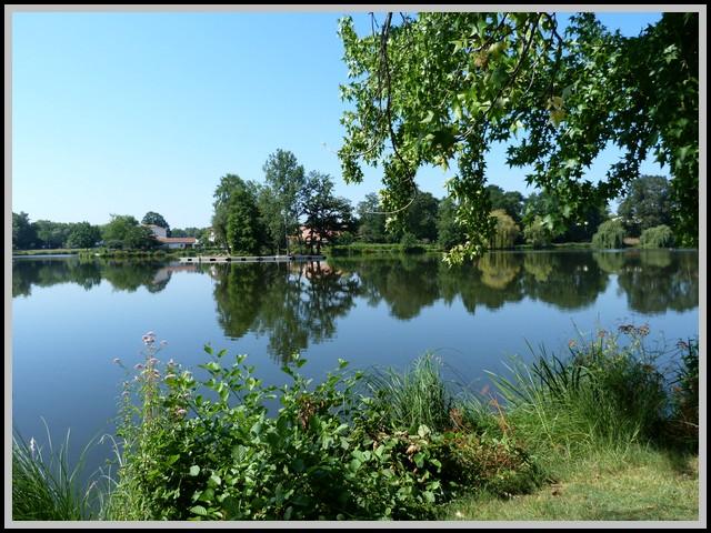 Le lac de Christus a St  Paul Les Dax