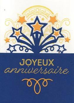 Cartes d'anniversaire chez Amélie et chez Manou