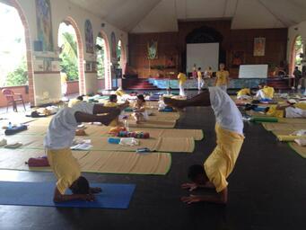 Teacher Training course, Sivananda Ashram (15/03/14 au 21/04/14)