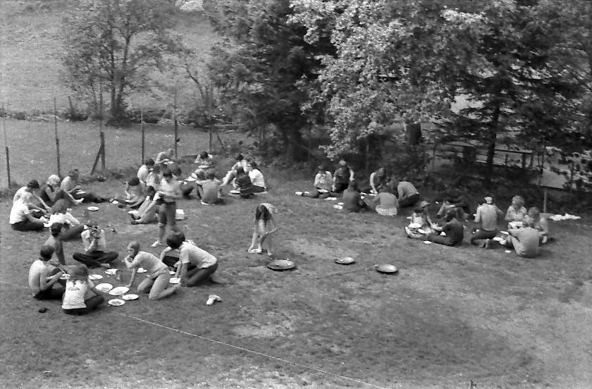 camp de jeunes en Suisse