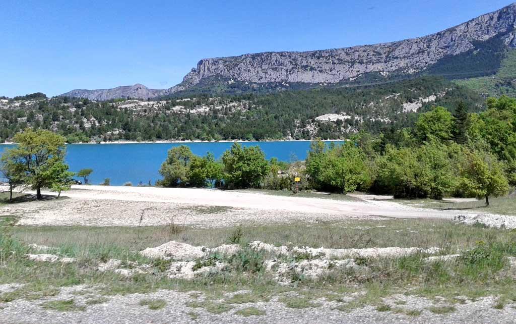Le lac de Sainte croix...Suite