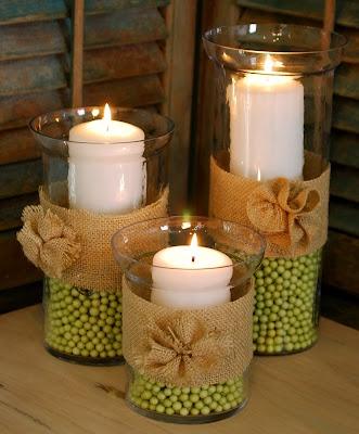 Idée Déco Noël : Les bougies