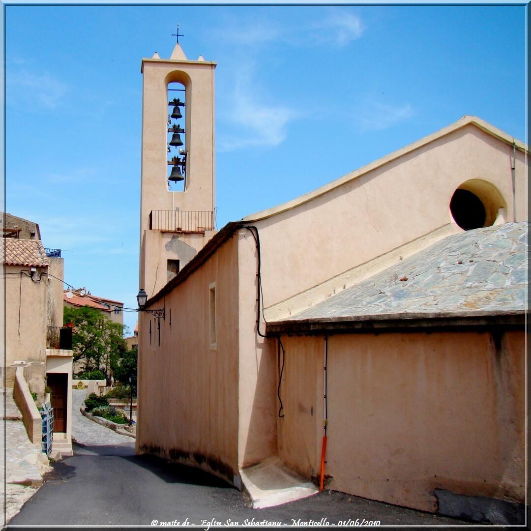 Eglise San Sebastianu - Monticello - Corse