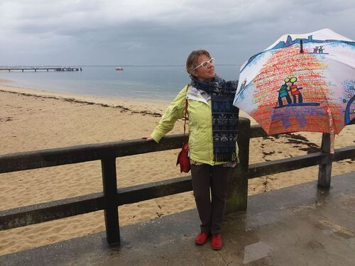 Ombrelles à la mer...