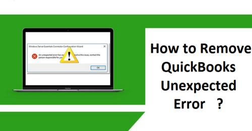 QuickBooks Unexpected Error