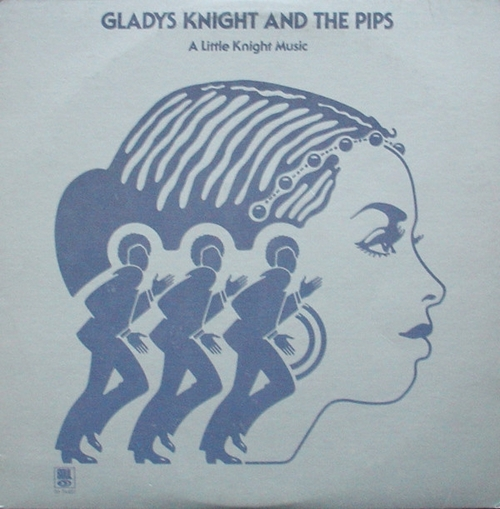 """Gladys Knight & The Pips : Album """" A Little Knight Music """" Soul Records S6-744S1 [ US ]"""