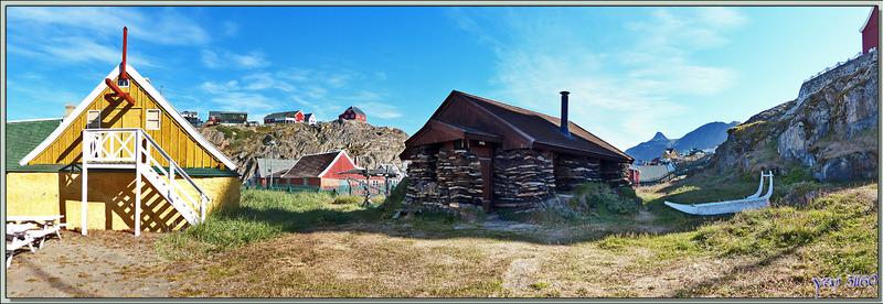 Musée en plein air de Sisimiut - Groenland