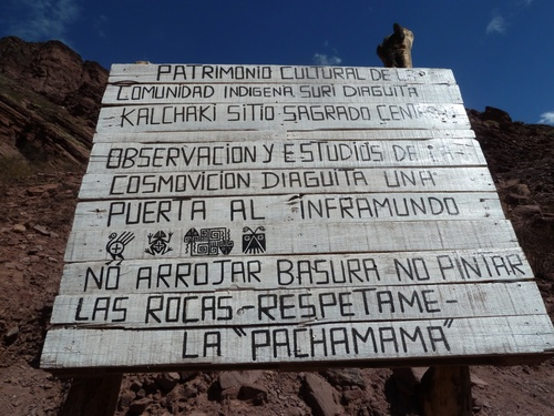 Direction Cafayate
