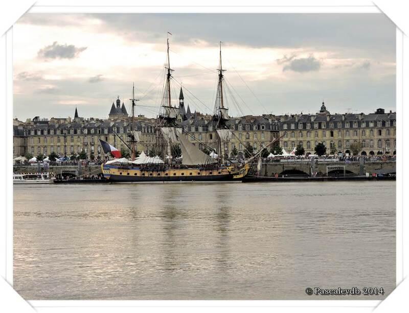 L'Hermione à Bordeaux