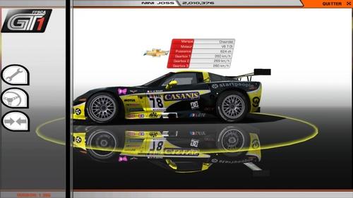 Corvette C6R V8 GT1