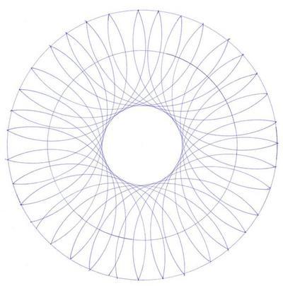 Blog de mimipalitaf :mimimickeydumont : mes mandalas au compas, modèle à colorier pour mandala,
