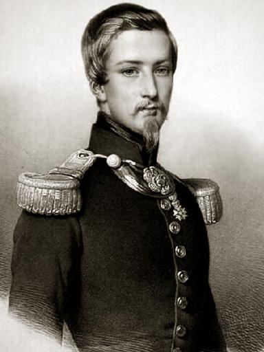 Duc d'Aumale (dessin noir et blanc)