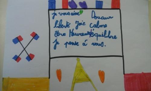 Messages de paix des élèves ...