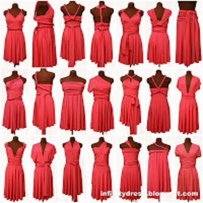Infinity dress pour Olivia !