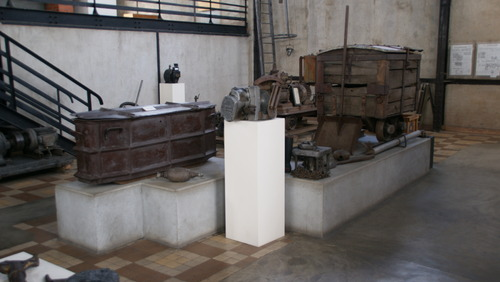 Journée du Patrimoine.Musée de la Mine à Bayard(63)