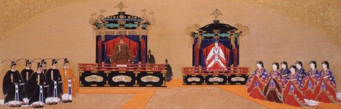 Le couronnent de l'empereur Akihito