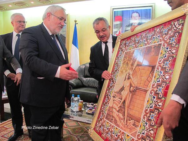 Algérie : visite inédite   d'un ministre français   à Sétif *** MISE A JOUR 20/04/2015 A 13H30