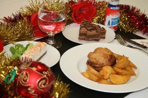 Le repas de Noël 2016