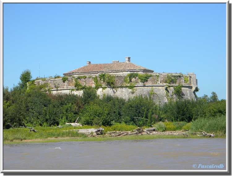 Verrou Vauban, estuaire de la Gironde