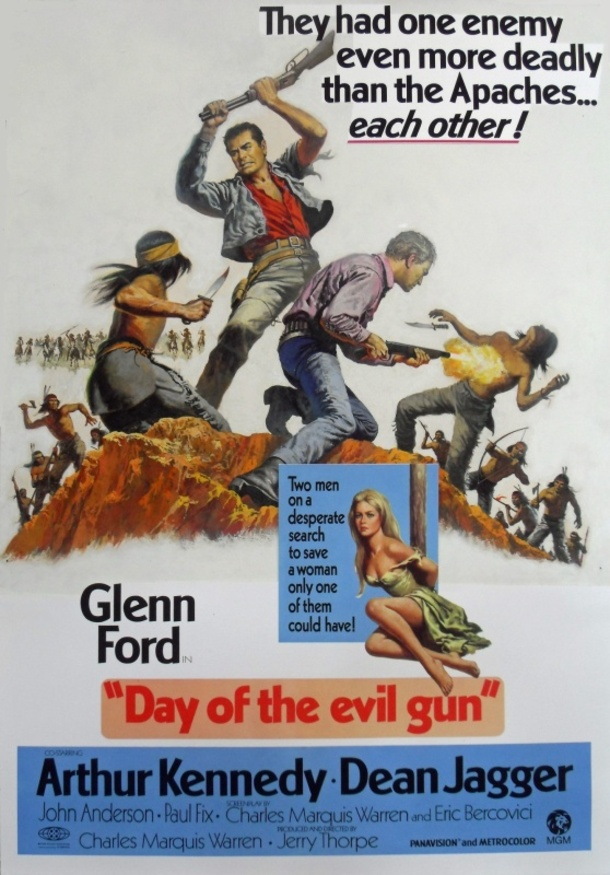 DAY OF THE EVIL GUN BOX OFFICE USA 1968